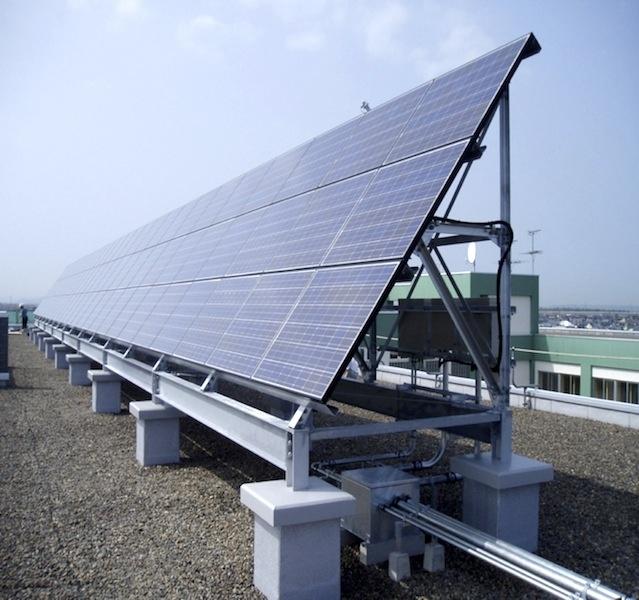 釧路明輝高校太陽光発電