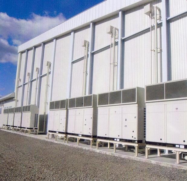 きのこ栽培特殊空調 愛別舞茸センター特殊空調機器   きのこ栽培特殊空調
