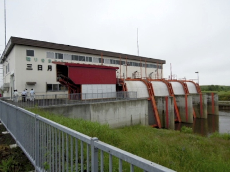 三日月排水機場
